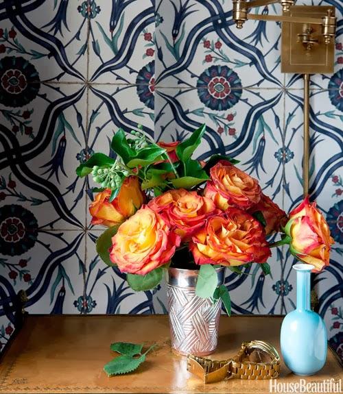 Iksel wallpaper iznik tiles