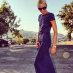 She is so chic:  Anna Mavridis
