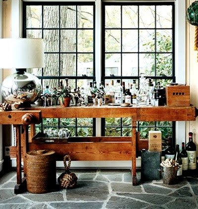 home bars via belle vivir blog