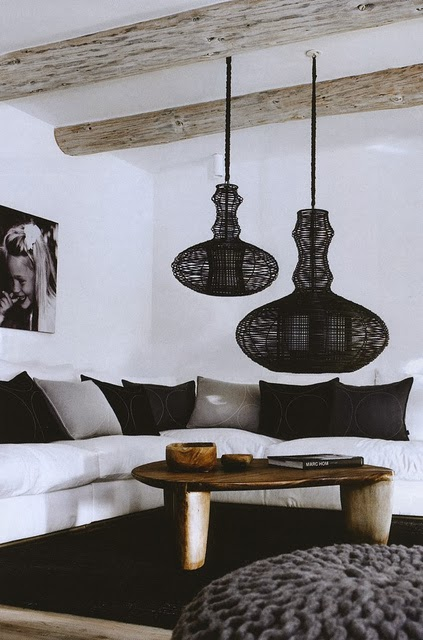 Scandinavian decor via belle vivir
