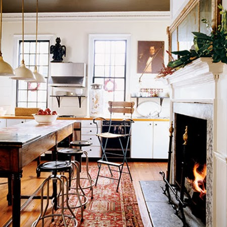 five elements to make a cozy home via belle vivir