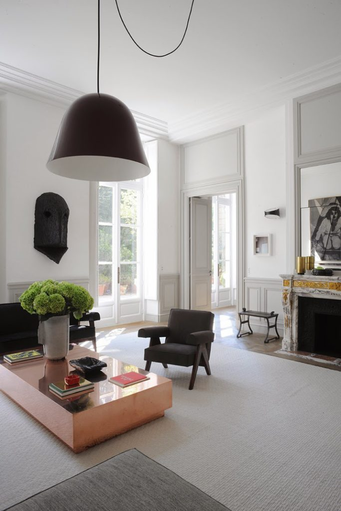Joseph Dirand, A Paris apartment designed living room by Joseph Dirand