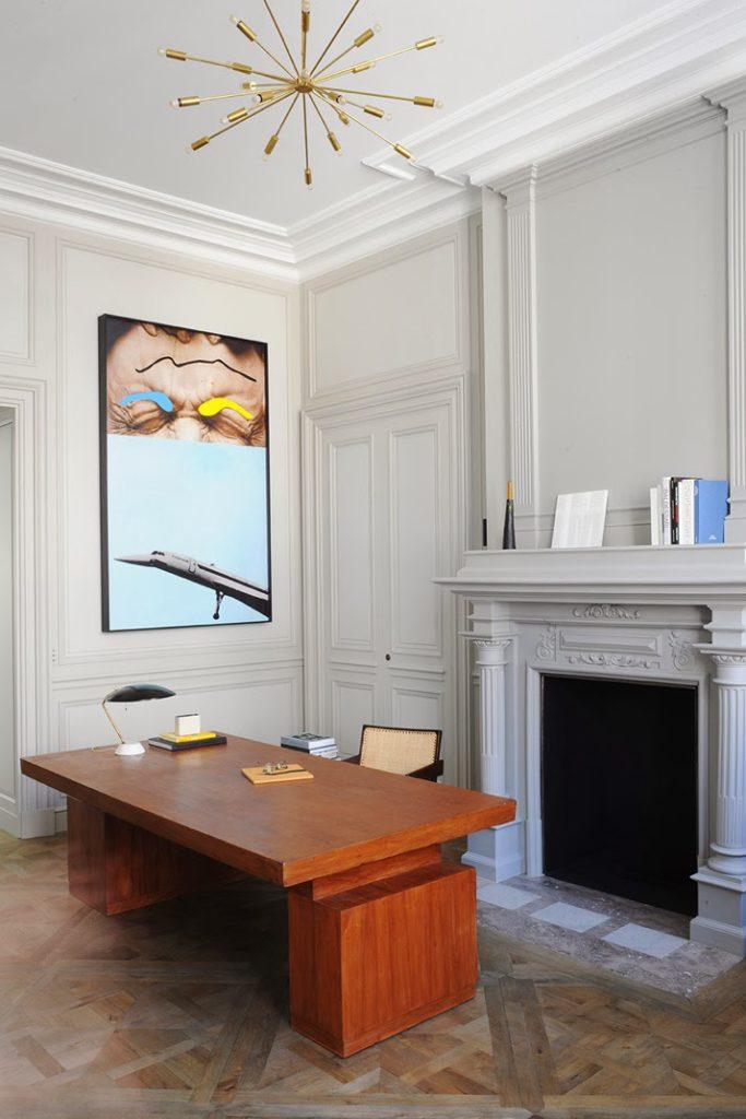 Joseph Dirand, A Paris apartment designed by Joseph Dirand home office