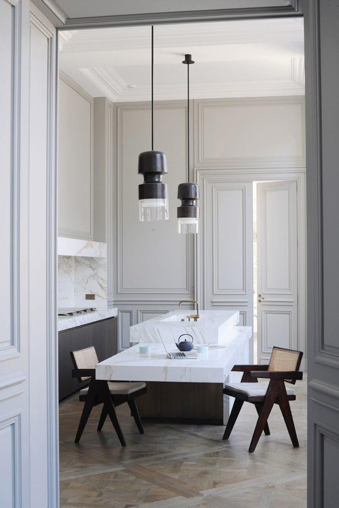 Joseph Dirand, A Paris apartment designed by Joseph Dirand kitchen