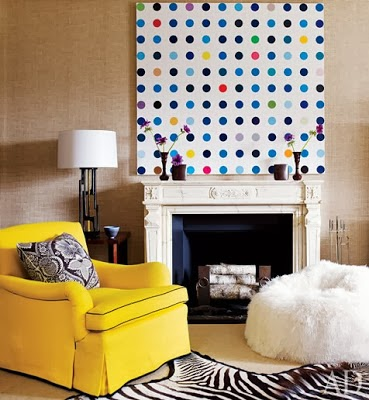 5 reasons why you need oversized art for your home via belle vivid blog how to use oversized art in your home decor damien hirst art