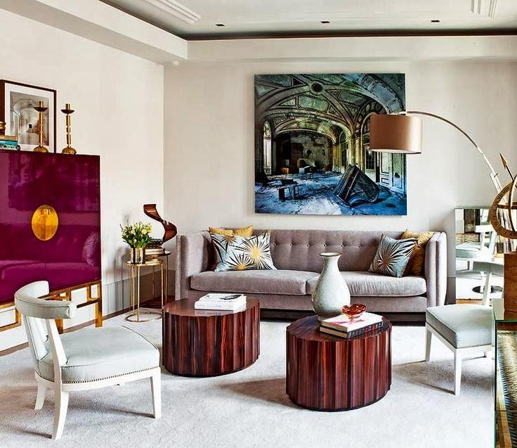Estefania Carrero design living room