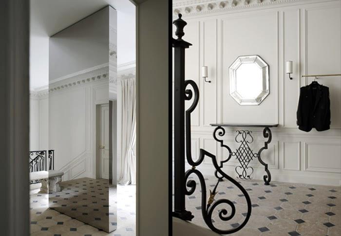 Balmain Paris  Store designed by Joseph Dirand via belle vivir