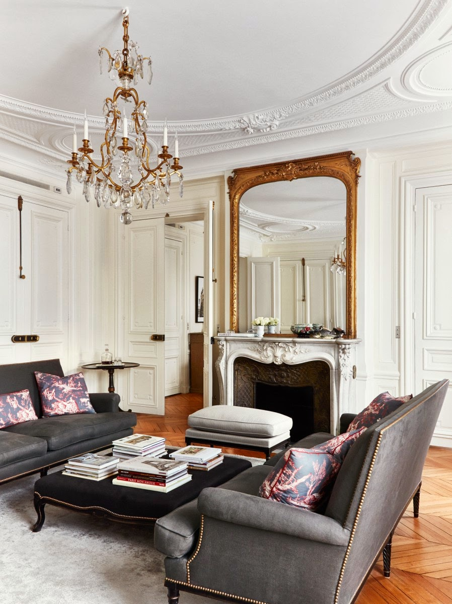 paris-living-room-with-fireplace-gilt-mirror-and-chandelier-by-a-B ...