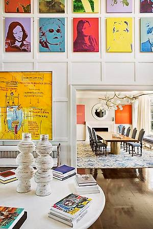 Julie HIllman design modern art via belle vivir blog