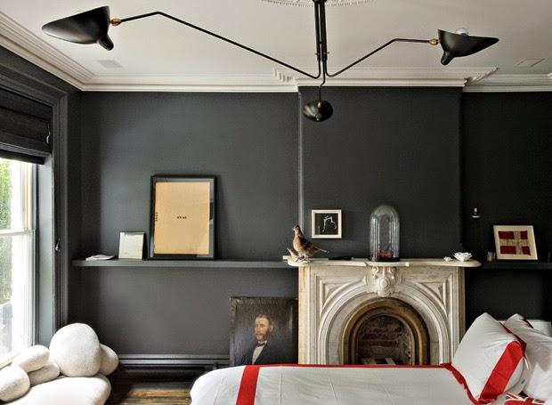 Jenna Lyons brooklyn Brownstone bedroom before via belle vivir blog