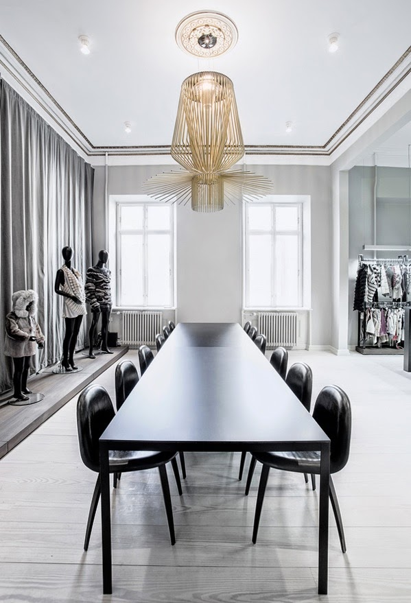 Kopenhagen Fur office designed by Helle Flou