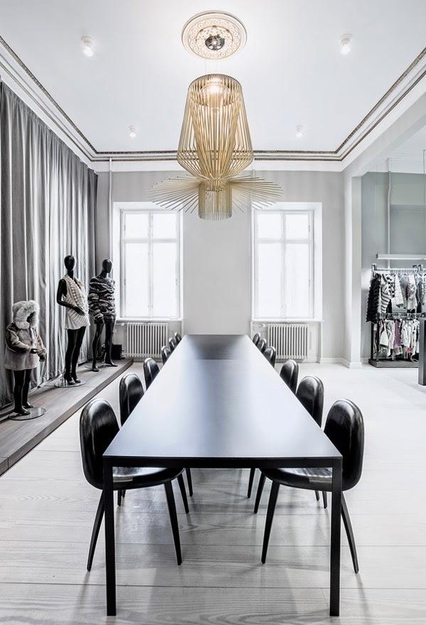 Kopenhagen Fur office designed by Helle Flou