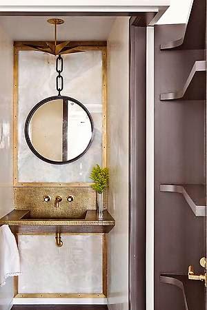 Julie Hillman design bathroom via belle vivir blog