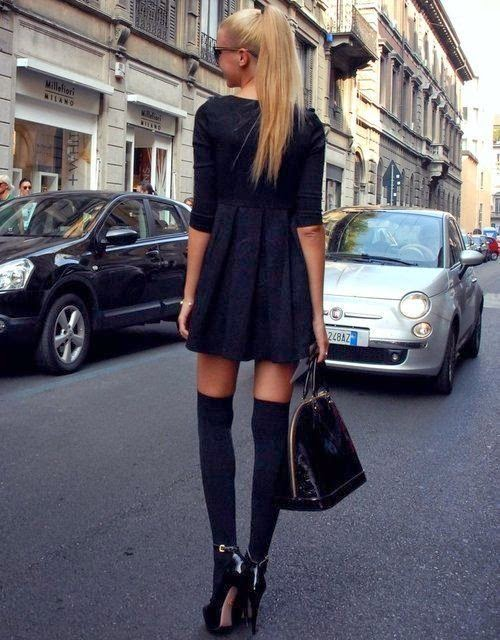 Get Your Own Over The Knee Socks-6090