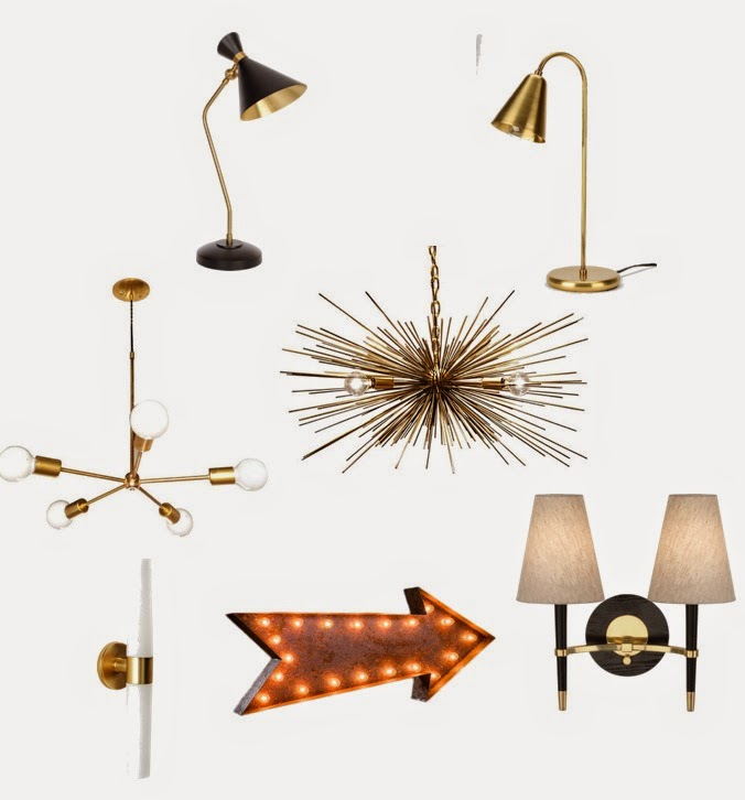 7 modern light fixtures under 500 via belle vivir