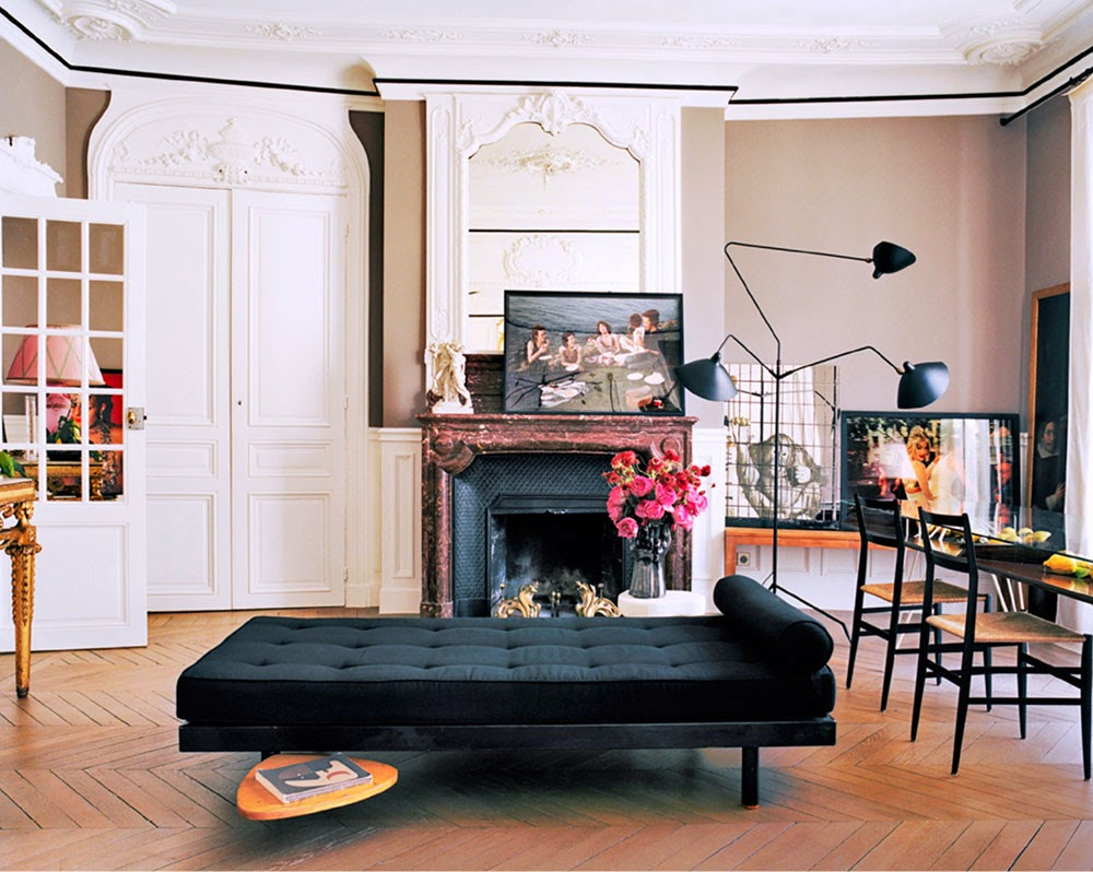 Giambattista Vali Apartment in Paris living room