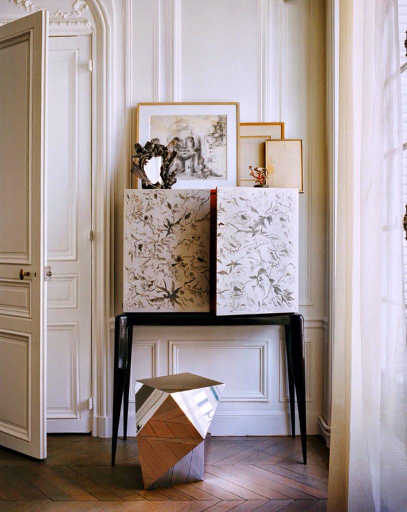 Giambattista valli apartment in paris for Designer apartment paris