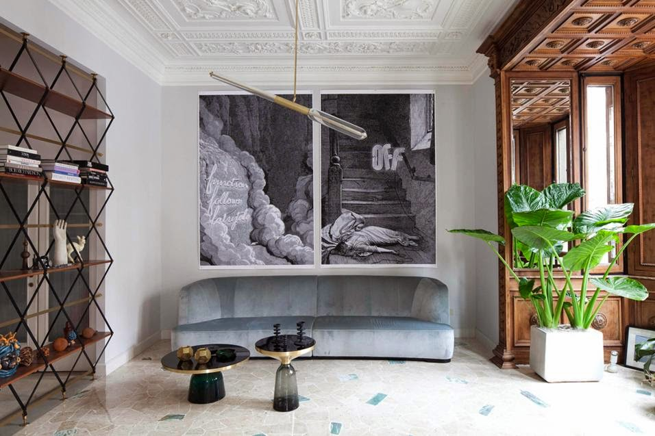 Interior designer posts about interior design by Pietro Russo