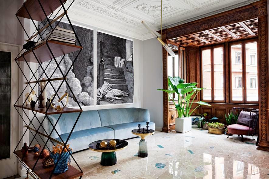 Pierro Russo, Home decor article about Pietro Russo design