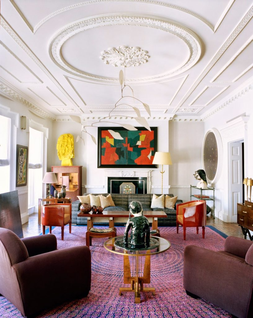 Terry de Gunzburg manhattan apartment designed by Jacque Grange via belle vivir blog