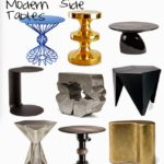 Retail Therapy:  French and Modern Side Tables