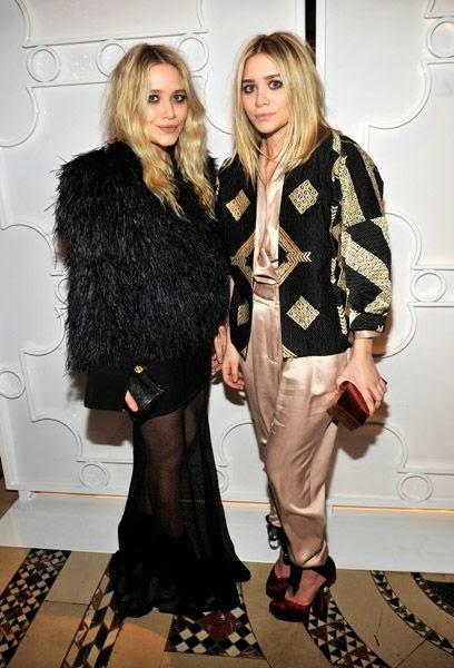 The Olsen twins via belle vivir