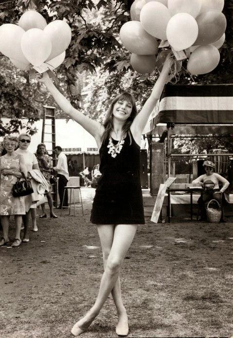 jane birking holding balloons
