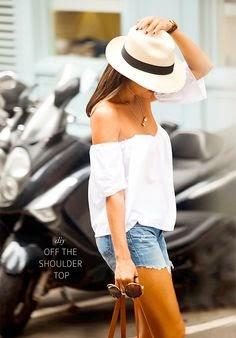 off the shoulders top-belle vivir