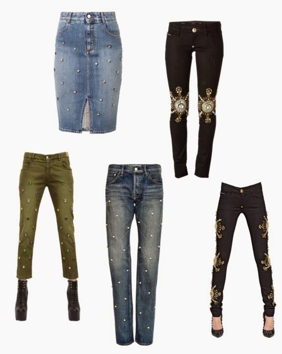 embellished jeans roundups of embelished jeans