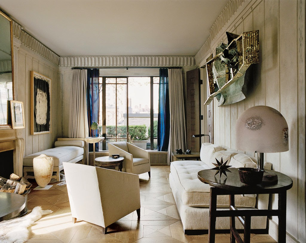 Rooms: Stephen Sills At Home In New York: A Whitewashed Beauty