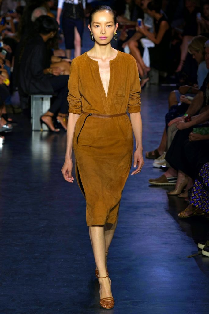 Altuzarra suede dress via belle vivir