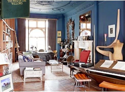 The most beautiful home libraries via belle vivir