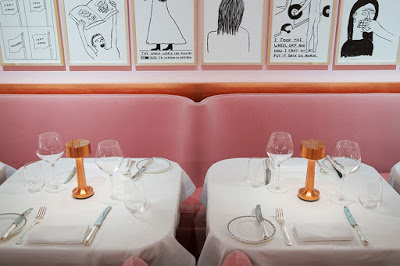 The Gallery at Sketch by India Mahdavi via Belle vivir blog
