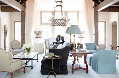 susan ferrier double living room