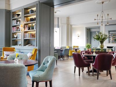 The Kensington Hotel restaurant London via Belle Vivir blog