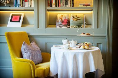 The Kensington Hotel Facade tea set via Belle Vivir blog