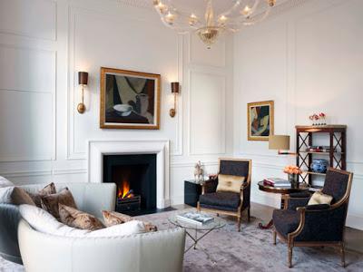 The Kensington Hotel suite London via Belle Vivir blog