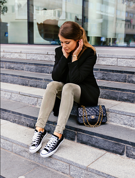 converse sneakers with khaki pants