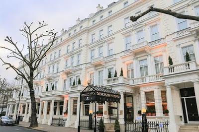 The Kensington Hotel Facade London via Belle Vivir blog