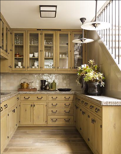 Merveilleux Steven Gambrel Kitchen With Wood Color Cabinets