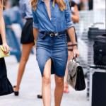 Monday Blues:  Chambray Shirt Street Style