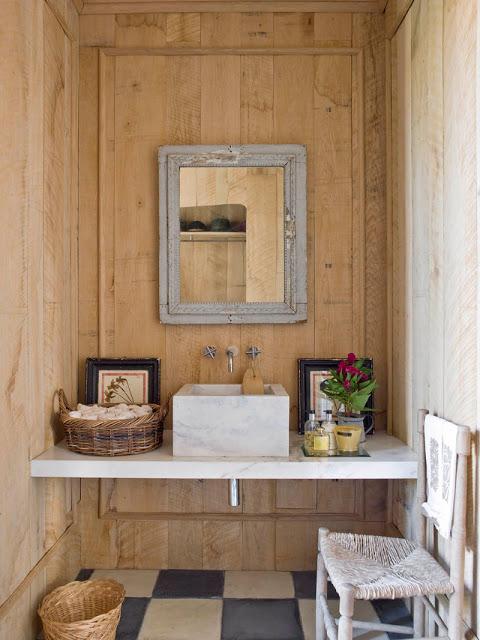 isabel lopez quesada powder room via belle vivir blog