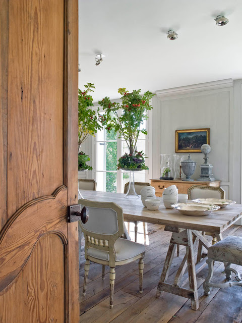 isabel lopez quesada dining room via belle vivir blog