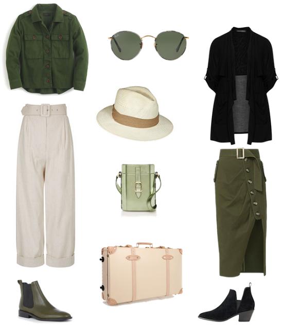 safari outfit options