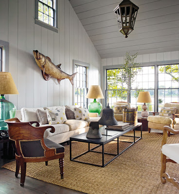 steven gambrel living room with shiplap