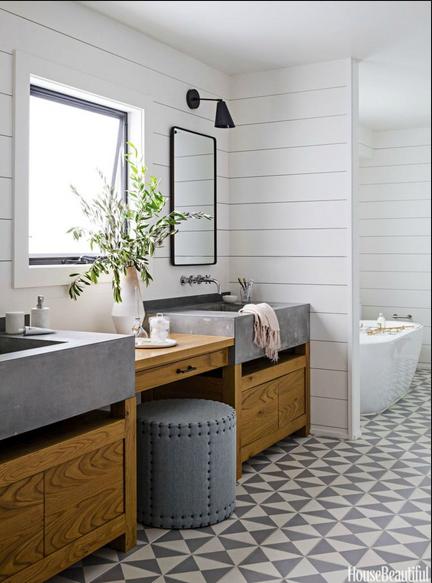 Decorate Shiplap Ideas, shiplap in bathroom-bell-vivir