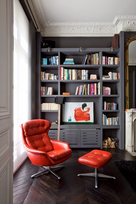 Revisiting a classic and modern parisian apartment for Double g architecture