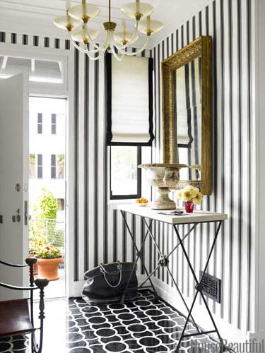 ways to decorate your foyer via belle vivir