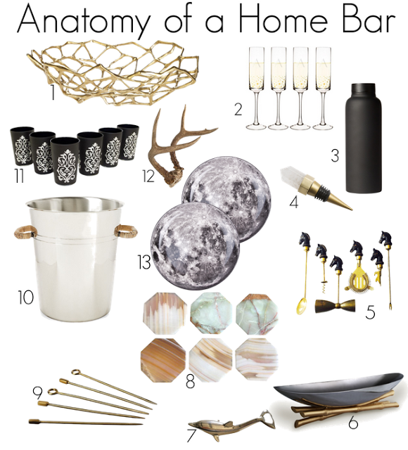 and how to style a home bar accessories to style a home bar