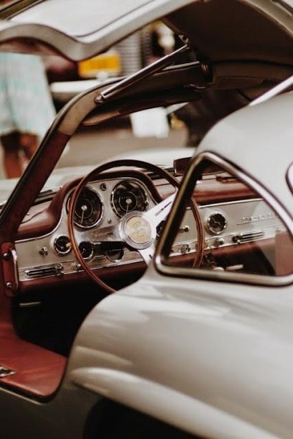 modern white sport white car via belle vivir blog